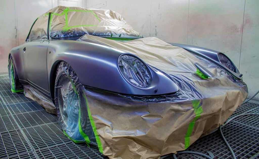 Abklebeband Lackierung Auto Automobile